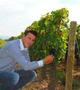 interview de Romain salle sur l'oenotourisme en Rhône alpes