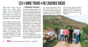 Découvrez les olympiades viticoles de l'agence IDEGO : défis sportifs, oenologiques et gastronomique