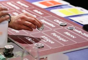 Table de jeu esprit poker