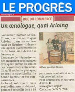 Ouverture de l'agence IDEGO, spécialisée dans les événements œnologiques pour les professionnels à Lyon
