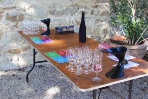Atelier ludique autour du vin