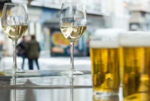 bière et vin, formule 2 en 1