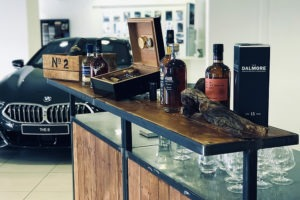 Dégustation de whisky et cigares sur le Barmob'