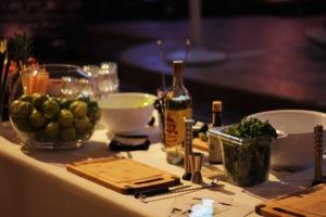atelier création de cocktails - bar à mojitos