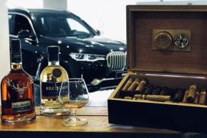 Bar mobile et dégustation whisky cigares