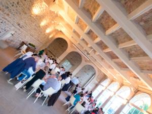 diner d'affaires dans lieux originaux : un domaine viticole prestige