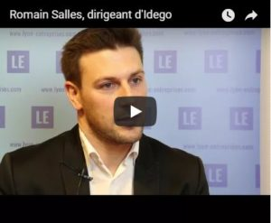Interview de Romain Salles dirigeant de l'agence IDEGO au salon SBE