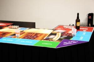 Table de jeu sur la thématique de la bière et biérologie