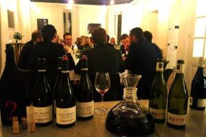Dîner entre collaborateur avec accords mets et vins