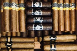 Sélection de cigares cubains et français