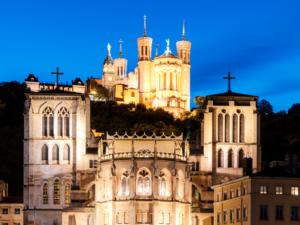 Faire découvrir Lyon à un groupe dont sa célèbre basilique