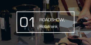 roadshow professionnel dans plusieurs villes avec animation oenologique de création d'un vin