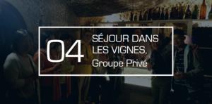 séjour dans les vignes aux portes de Lyon pour groupe privés et étrangers