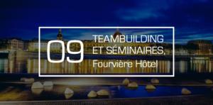 anniversaire d'entreprise au Fourvière Hôtel à Lyon avec l'agence IDEGO