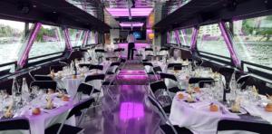 Organiser sa soirée professionnelle sur un bateau à Lyon