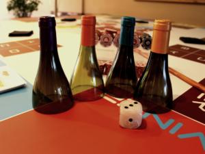 table ludique type casino des vin pour votre lancement de produit à lyon