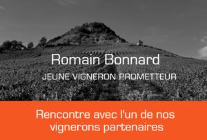 Romain Bonnard vigneron partenaire d'IDEGO