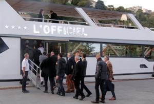 Organisation d'événement sur un bateau par IDEGO