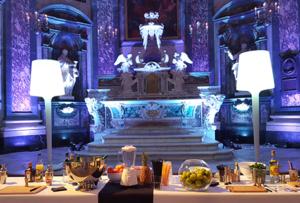 Prestation cocktails IDEGO à la Chapelle de la Trinité Lyon