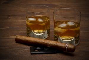 Alliance whisky cigares pour thématique années folles