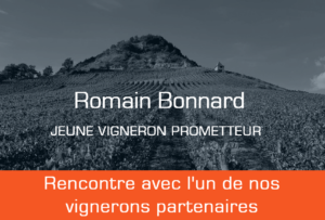 Romain Bonnard jeune vigneron du Bujet