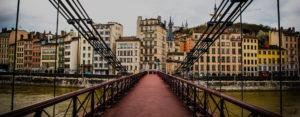 Passerelle Saint George dans le Vieux Lyon