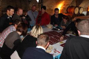 Activité entreprise pour apprendre sur l'oenologie et déguster du vin