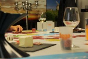 Animation dégustation de fromages régionaux par un prestataire spécialisé