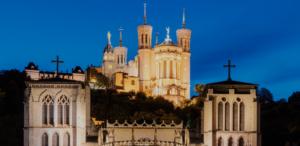 Découverte de Fourvière, basilique de Lyon pendant un séminaire pro à Lyon