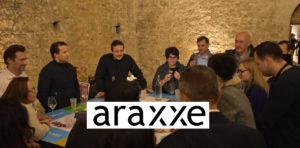 soirée entreprise araxxe et animation oenologique ludique IDEGO