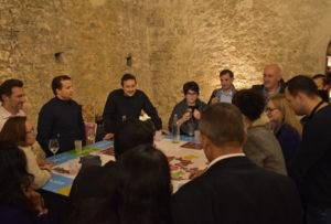animation entreprise originale autour du vin dans un château aux portes de Lyon