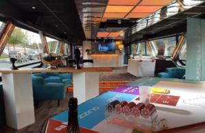 Soirée avec animation oenologique sur un bateau à Lyon