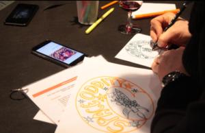 Activité créative pour tous : étiquette d'un vin