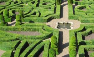 Jardins châteaux de la Loire