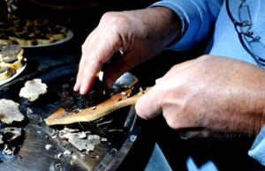 Déjeuner d'exception entièrement à base de truffes