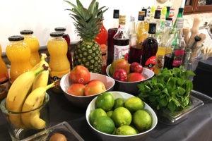 Buffet de fruits pour laisser libre court à son imagination !