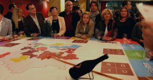 Soirée entreprise avec animation table du Winer à l'Abbaye de Collonge