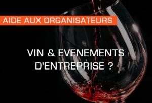 article IDEGO : l'événementiel et le vin