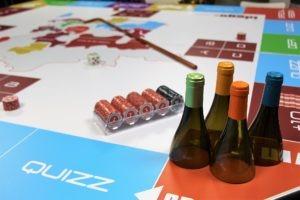 Plateau de jeu oenologique et gastronomique du Winer