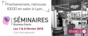 Retrouvez IDEGO au salon SBE à Lyon le 7 et 8 février 2019