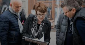 activité découverte et visite de Lyon rallye de bacchus avec IDEGO