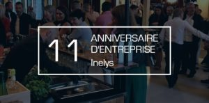 Anniversaire d'entreprise 10 ans à Lyon