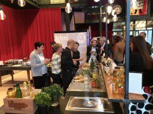 soirée cocktail pour les 10 ans d'une entreprise à Lyon
