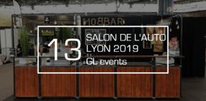 bar à vin avec GL events