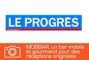 article de presse sur mobbar, le bar evenementiel mobile