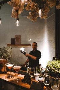 bar à cocktail mobile pour soirée entreprise lyon