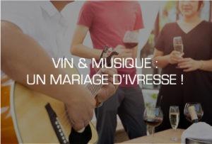 animations dégustation de vin avec musique adaptée